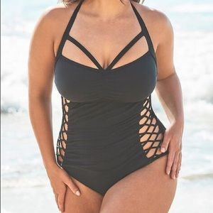 Ashley Graham Swimsuits For all Sz 8